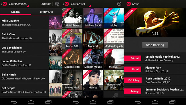 Songkick-android